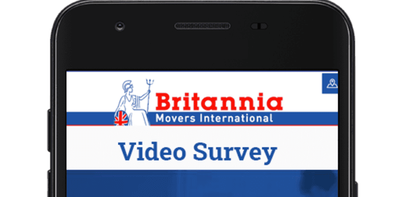 Britannia Pink and Jones Video Survey App