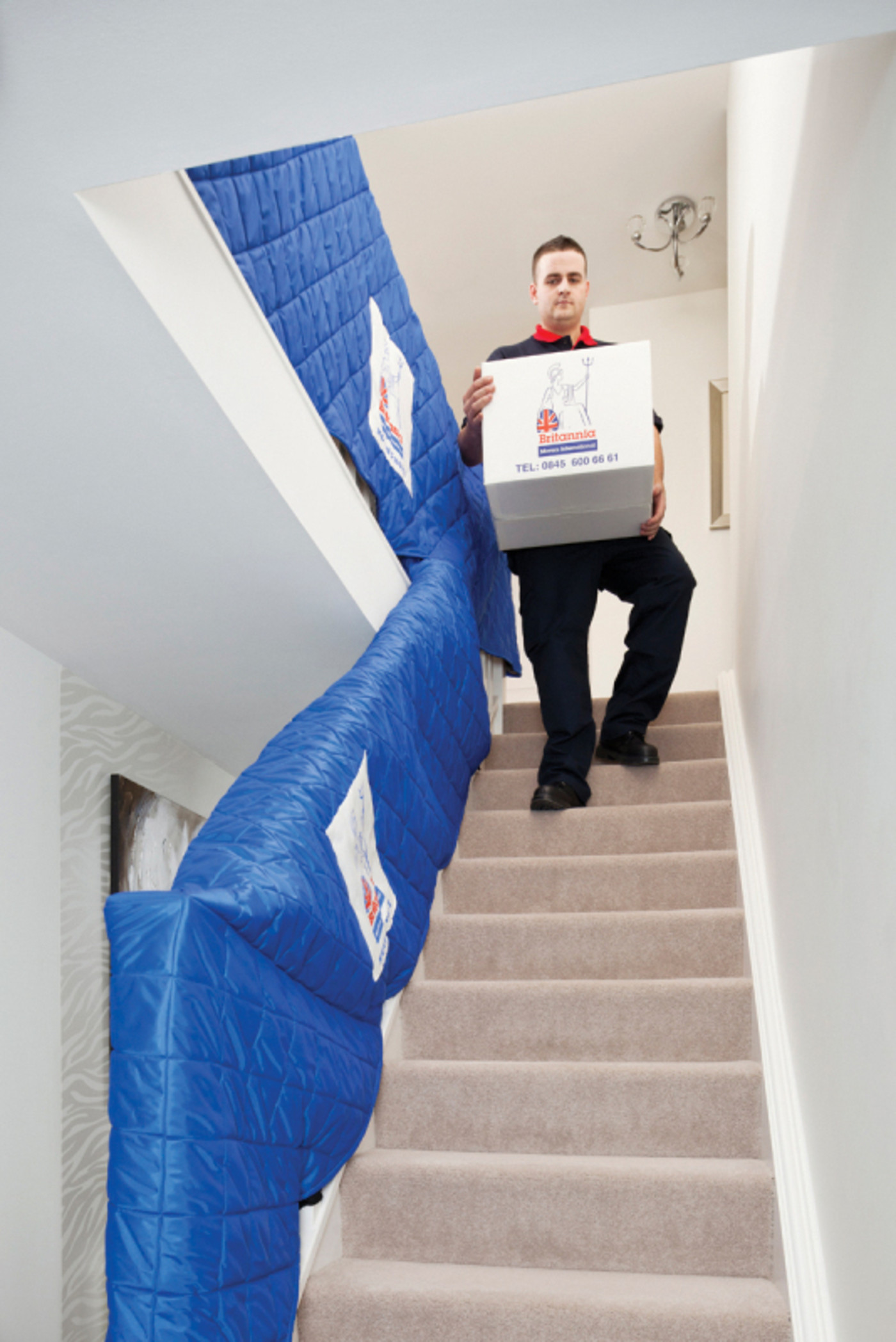 BMI Carrying Items Down the Stairs